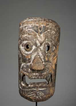 A mask depicting a King