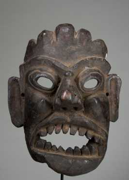 Darmapala mask - protector of the faith