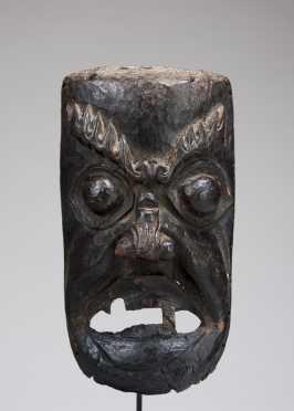 A Darmapala mask - protector of the faith