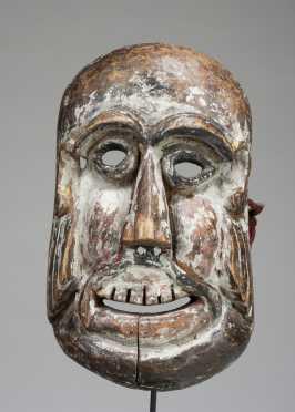 A Comic village mask