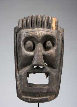 Mask of the Fierce guardian of the four directions.