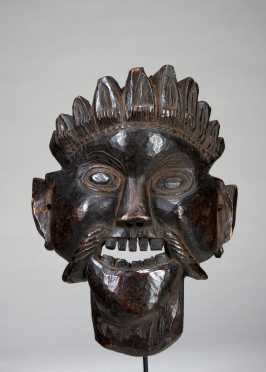 A Ritual mask