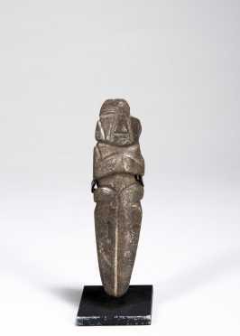 A Mezcala figurine