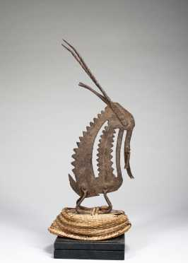 An iron chiwara dance crest