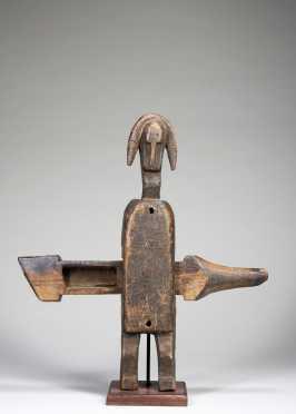 A Bamana figural doorlock