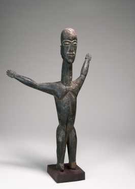 An expressive Lobi Bateba figure