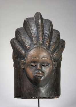 A Bassa Bundu initiation mask