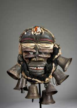 A Guere-Wobe war mask